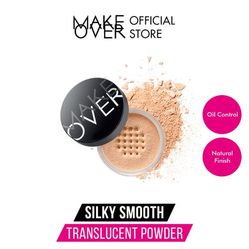 Foto Produk MAKE OVER Silky Smooth Translucent Powder - 06 Buttermilk dari Make Over Official Shop