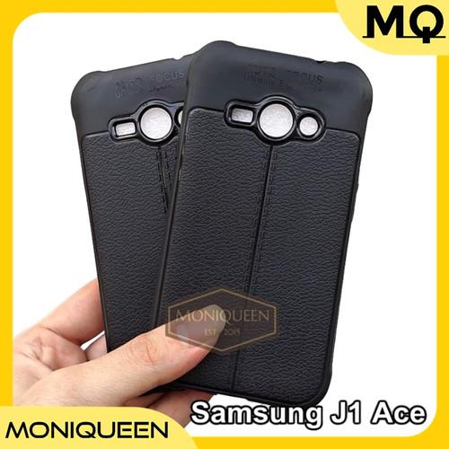 Foto Produk Case Samsung J1 Ace Autofocus Leather Softcase Auto focus Soft case dari MoniQueenShop