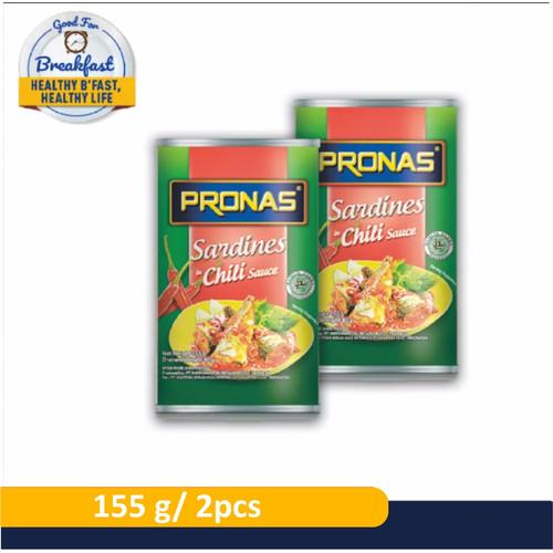 Foto Produk Pronas Sarden dalam Saus Pedas 155 g bundling 2 pcs dari Pronas Official Store