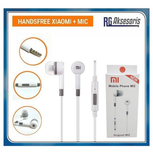 Foto Produk Handsfree Xiaomi MI 2 (Earphone headset headphone hf) dari RG AKSESORIS HP
