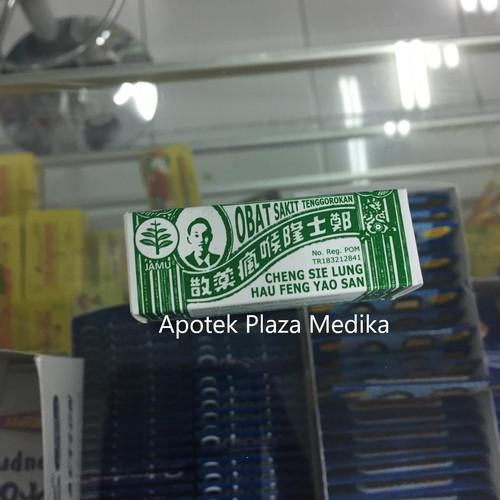 Foto Produk CHENG SIE LUNG HAU FUNG SAN - Obat Sariawan, Sakit Gigi, Tenggorokan dari Plaza Medika
