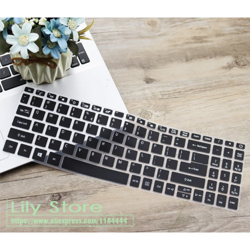 Foto Produk Acer Aspire 3 A315 / Aspire 5 A515 Laptop Keyboard Protector Cover - Hitam dari Gadget_Bro