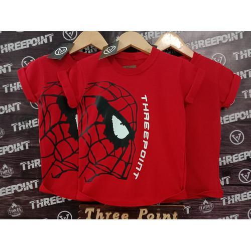 Foto Produk ARN-cloth baju anak karakter dann distro threepoint merah spiderman - Merah, S dari ARN-cloth