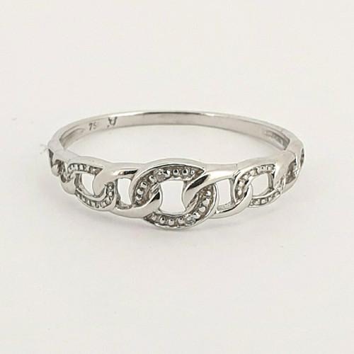 Foto Produk Cincin Emas Berlian Casey Diamond Ring - GGR 5464W dari Goldmart Official Shop