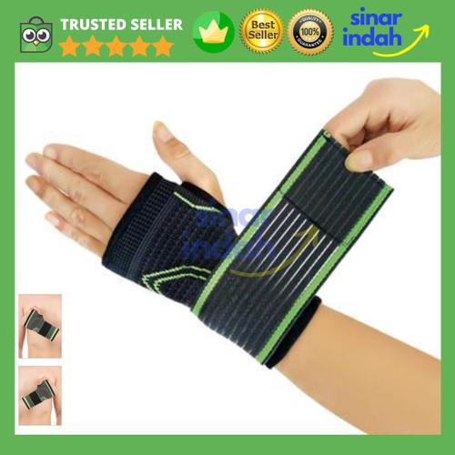 Foto Produk Wrist Hand Band Brace Palm Gym Support Splint Carpal Tunnel Arthritis dari CV. Sinar Indah