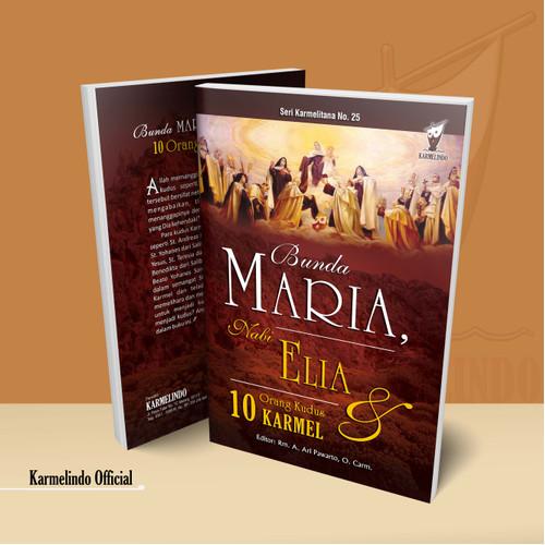 Foto Produk Bunda Maria Nabi Elia dan 10 Orang Kudus Karmel dari Karmelindo Official