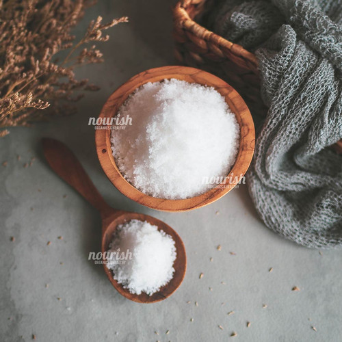 Foto Produk Unrefined Bali Sea Salt (Garam Laut Murni Bali) Garam Sehat 500 gr dari Nourish Indonesia