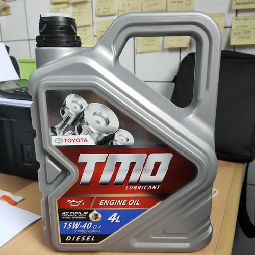 Foto Produk Oli TMO 15W40 Diesel Galon 4 liter dari Yayan Online Shop