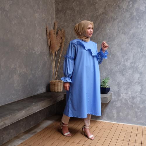 Foto Produk Fidra Tunik Biru By Rurik dari Official_Rurik