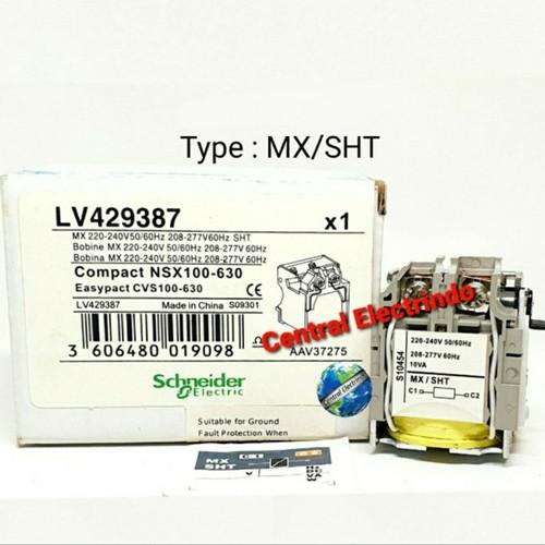 Foto Produk MCCB ACCESORIES UVT MX220VAC UNTUK NSX/CVS LV429387 dari central electrindo