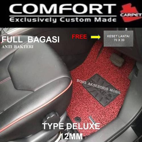 Foto Produk Karpet Comfort Deluxe Khusus CRV Turbo 3 Baris + Bagasi dari Boss Aksesoris Mobil