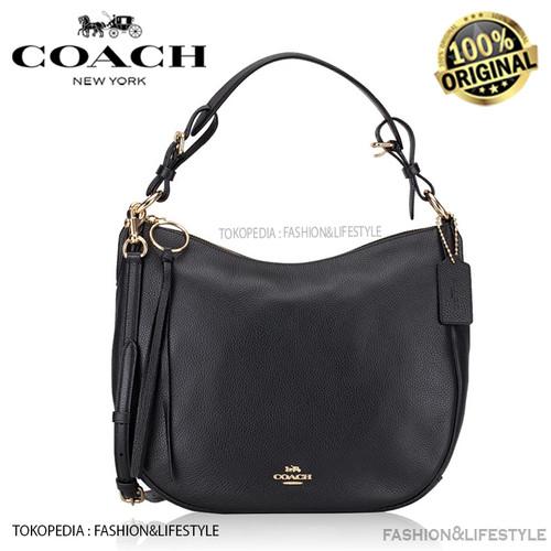 Foto Produk Coach Leather Sutton Hobo Bag Black Original 100% Authentic dari Fashion&LifeStyle