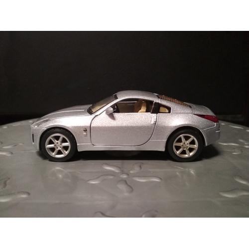 Foto Produk Diecast Kinsmart Nissan 350Z - Silver - Loose Tanpa Box dari YDIECKINS
