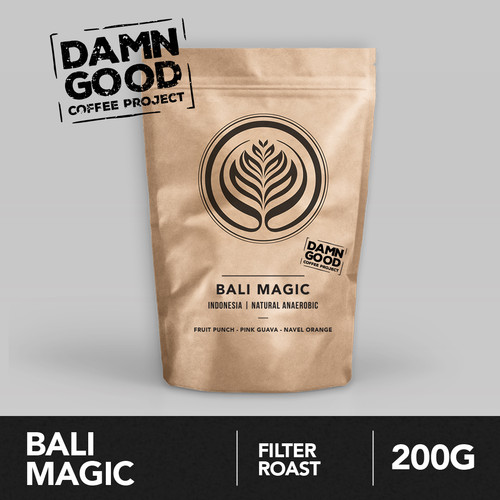 Foto Produk Bali Magic 200g - Biji Kopi Arabika 200gr | Coffeenatics dari Coffeenatics
