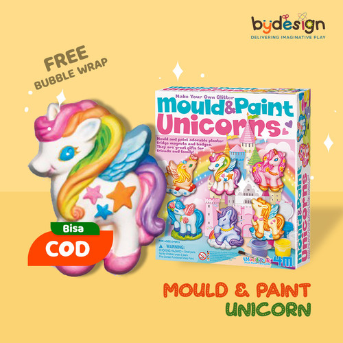 Foto Produk Mainan Edukasi MOULD & PAINT UNICORN dari bydesign cgi