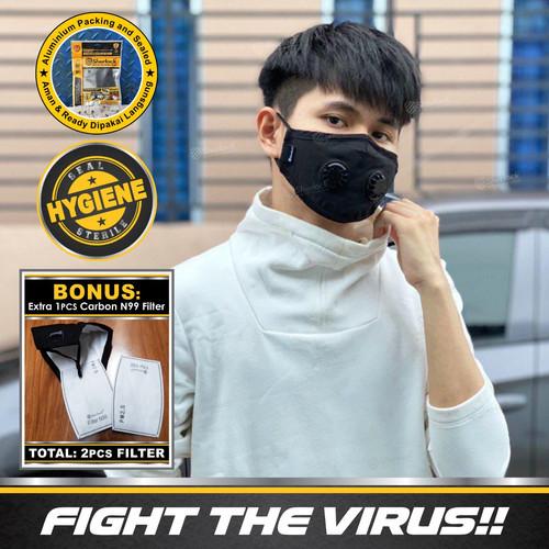Foto Produk Masker N99 / Masker Polusi / Motor / Virus / Sherlock Masker Kesehatan dari Gold-Mart