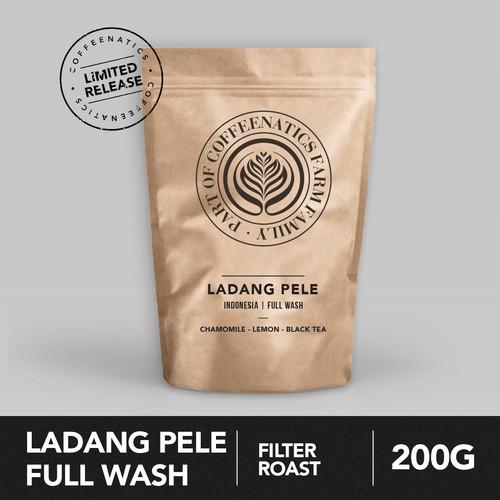 Foto Produk Ladang Pele Full Wash 200g - Biji Kopi Arabika 200gr | Coffeenatics dari Coffeenatics
