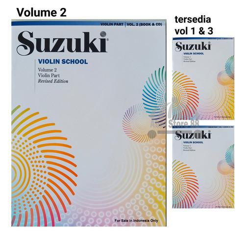 Foto Produk Suzuki Violin School Volume 1/2/3 Violin Part + CD Buku Biola Pemula - Volume 2 dari Abel Store 88