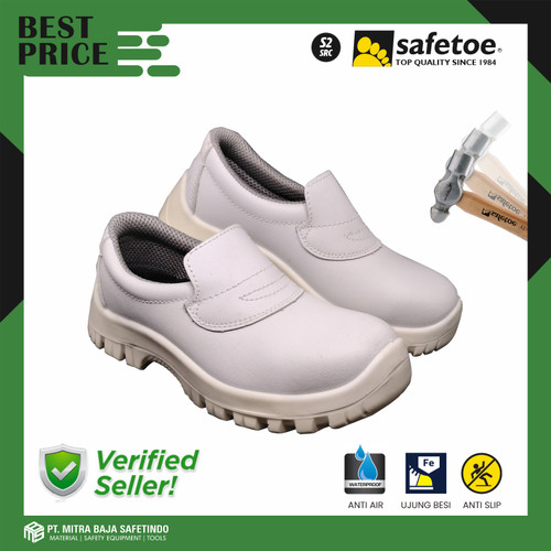 Foto Produk Sepatu Safety SAFETOE Kitchen Chef Anti Minyak Air atau Detergen DRACO - 36 dari MITRABAJA SAFETINDO