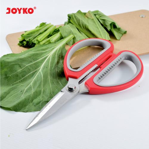 Foto Produk Joyko Scissor Heavy Duty Soft Grip SC-13 / Gunting Serba Guna SC-13 dari Raja Stationery