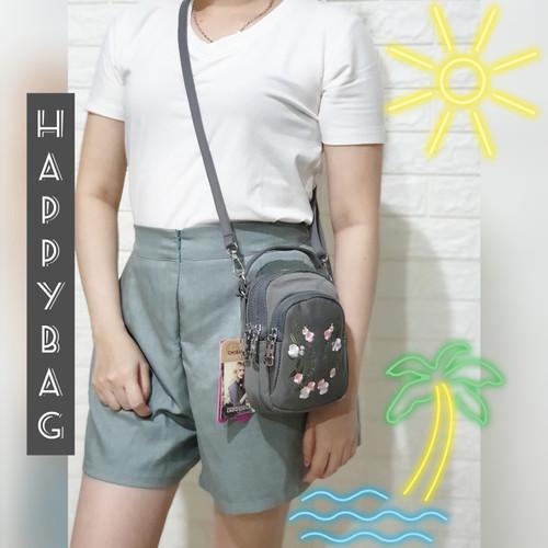 """Foto Produk TAS CHIBAO BORDIR BUNGA 2in1 Jinjing Selempang CB8182 3Res - maroon dari """"HAPPY-BAG"""""""