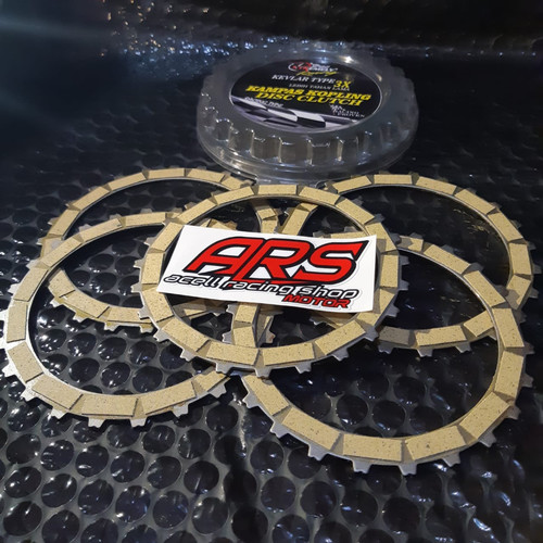 Foto Produk Kampas Kopling XTR RACING Kevlar SONIC 150R - CBR 150 LED - Supra GTR dari ARS MOTOR PARTS