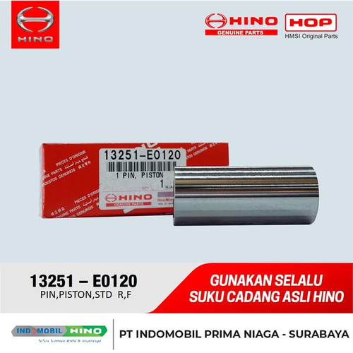 Foto Produk PIN,PISTON,STD R/F dari INDOMOBIL_HINO_JATIM