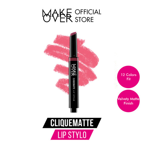 Foto Produk Make Over Cliquematte Lip Stylo - 202 Hollywood dari Make Over Official Shop