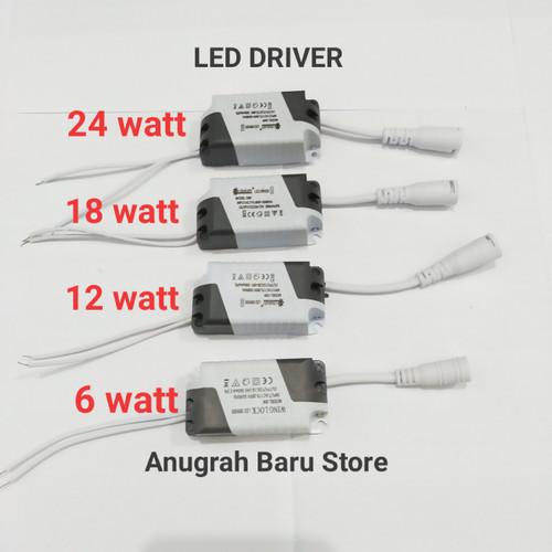 Foto Produk Led Driver lampu downlight panel 6 watt 12 watt 18 watt 24 watt - 6 watt dari Anugerah Baru store