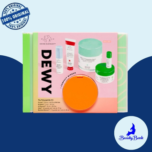 Foto Produk Drunk Elephant Dewy : The Polypeptide Kit dari BeautyBank