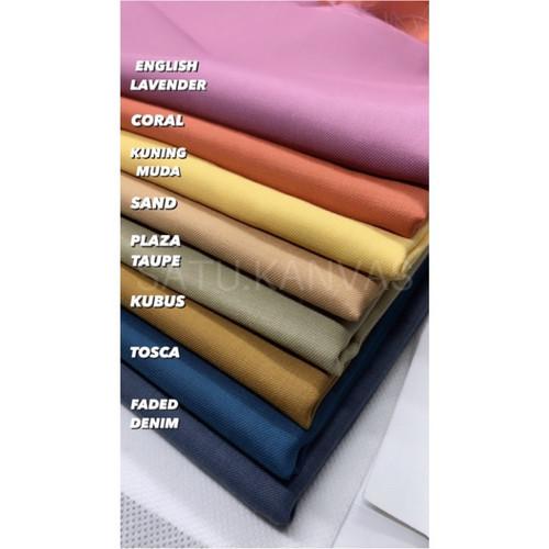 Foto Produk Kain TOYOBO murah royal mix (banyak warna) - cream dari Satu_kanvas