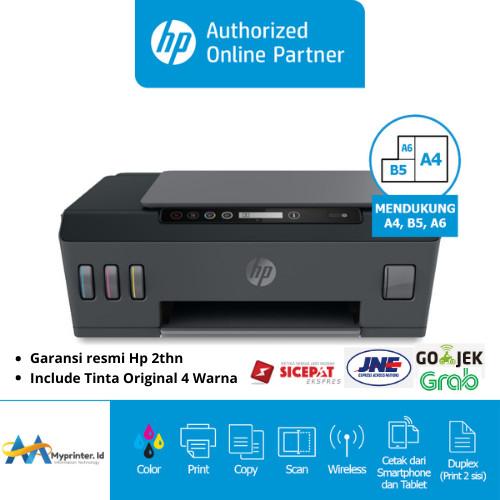 Foto Produk PRINTER HP SMART TANK 515 AIO WIFI INCLUDE TINTA - GARANSI RESMI 2THN dari myprinter.id