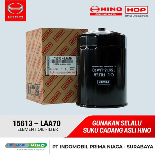 Foto Produk ELEMENT OIL FILTER 15613LAA70 dari INDOMOBIL_HINO_JATIM