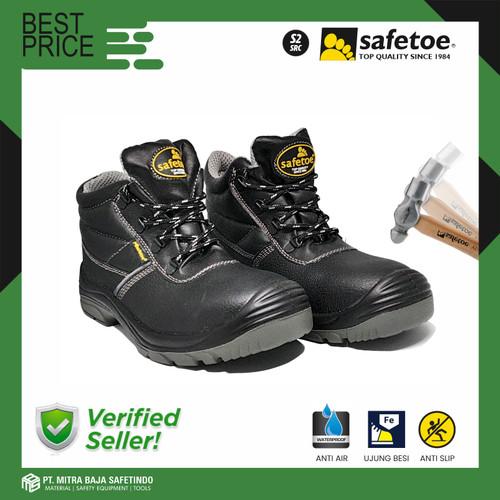 Foto Produk Sepatu Safety SAFETOE Sepatu Ujung Besi Anti-Statis Type ALTAIR - 40 dari MITRABAJA SAFETINDO