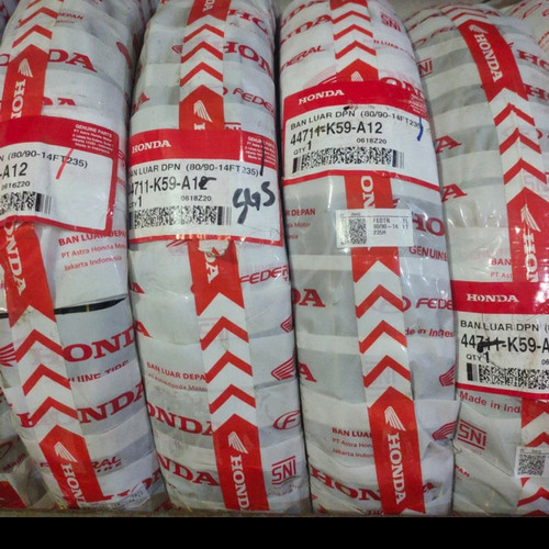 Foto Produk BAN TUBELESS FEDERAL 80/90-14 80 90 14 DEPAN BEAT VARIO SCOOPY FI ESP dari Rei Motor