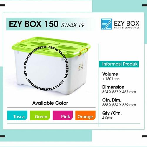 Foto Produk Container box Ezy 150 liter CB Vindo dari HarbertmilkteaPlast