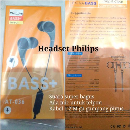 Foto Produk Headset Philips (suara bagus) dari Murah Unik