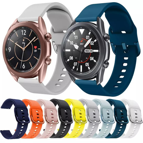 Foto Produk STRAP SILICONE RUBBER ACTIVE TALI JAM SAMSUNG GALAXY WATCH 3 41mm dari Strap You Need