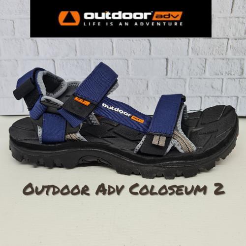 Foto Produk Sandal Gunung OUTDOOR ADVENTURE COLOSEUM 2 (Original) - Navy, 42 dari SHOE N SLIPPER
