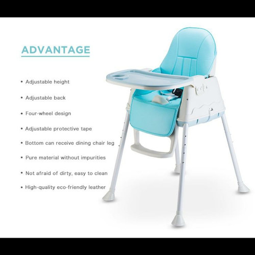Foto Produk Right Starts 4 in 1 High Chair Flexi - BLUE dari Mother_Baby
