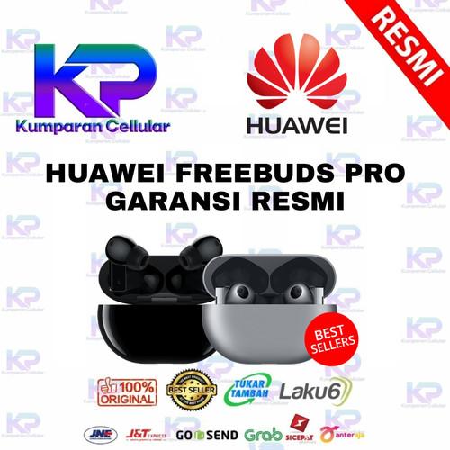 Foto Produk HUAWEI FREEBUDS PRO GARANSI RESMI - Hitam dari Kumparan Cellular