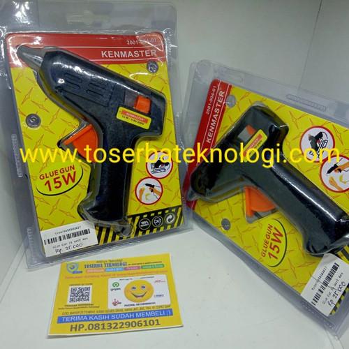 Foto Produk Glue Gun 15 Watt Kenmaster/Lem Tembak dari Toserba Teknologi Official