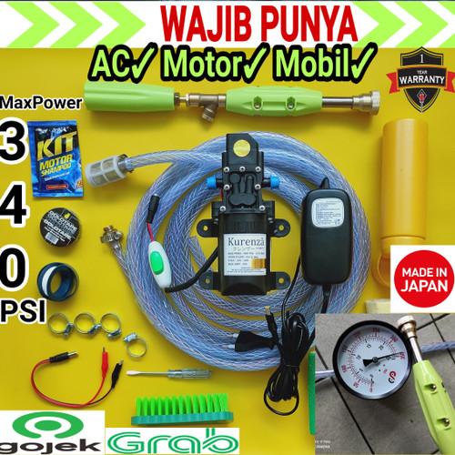 Foto Produk Set Lengkap Mesin Power Sprayer Alat Cuci AC Motor Mobil Steam dari beta toolss