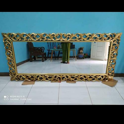 Foto Produk pigura ukir duco gold classik mewah dari tokoh furniture murah
