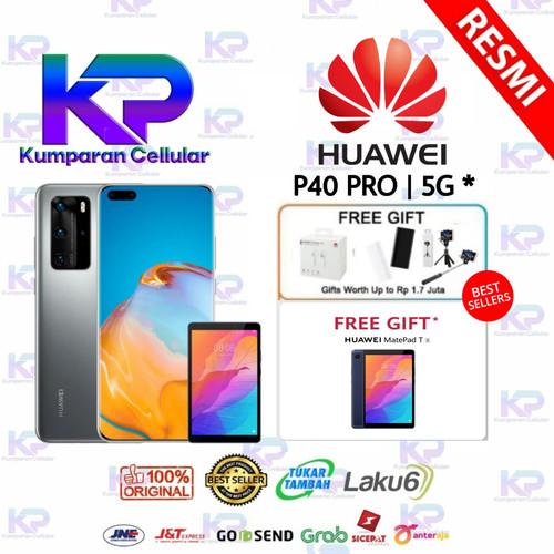 Foto Produk HUAWEI P40 PRO 8GB 256GB GARANSI RESMI - Silver dari Kumparan Cellular