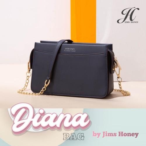 Foto Produk Jims Honey - Diana Sling Bag Tas Wanita Selempang - Biru dari JIMS HONEY OFFICIAL