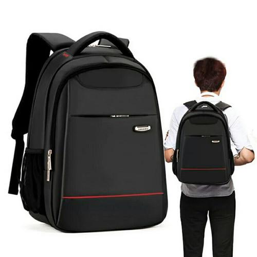 Foto Produk Backpack Polo Fabric Tas Ransel Laptop Tas Ransel Pria Polo Murah dari SUPERSTORE1