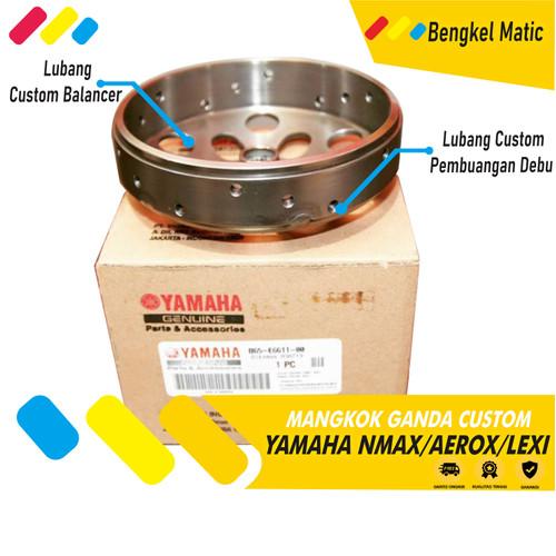 Foto Produk Mangkok Kampas Ganda Nmax Ori Custom Racing Paket CVT Nmax Aerox Lexi - LEXI dari Bengkel Matic Official