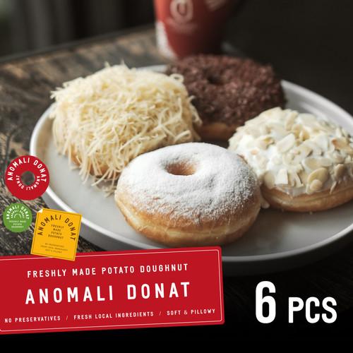 Foto Produk Paket Donat 6 Pcs ( Khusus Kurir Instant & Sameday ) dari Anomali Coffee