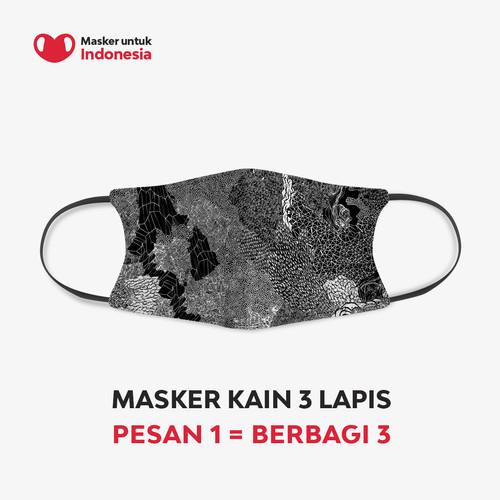 Foto Produk Rega Ayundya x Masker untuk Indonesia - M dari Masker untuk Indonesia